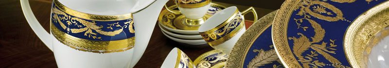 Imperial Gold Cobalt Sets